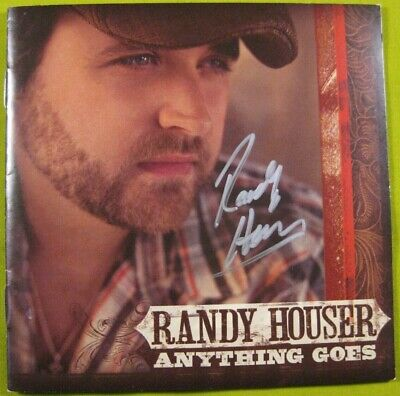 £18.02 • Buy * Signed / Autographed * - Anything Goes By Randy Houser (CD, 2008, Universal)