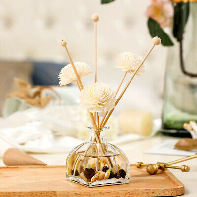 AU13.59 • Buy 3-pcs Daisy Flower Rattan Reed Diffuser No-fire Replacement Sticks Aromatherapy
