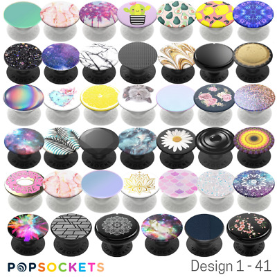 AU19.50 • Buy Popsockets Official Swappable Expanding Stand & Grip For Smartphones- 15 Designs