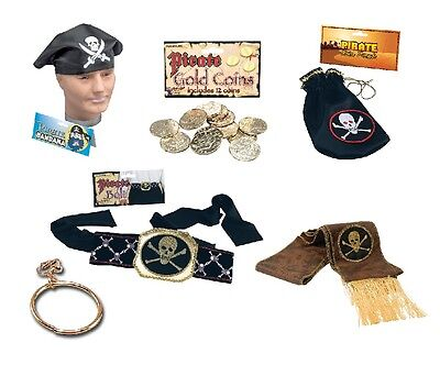 £5.60 • Buy Pirate Costume Party Fancy Dress Accessories All Kinds