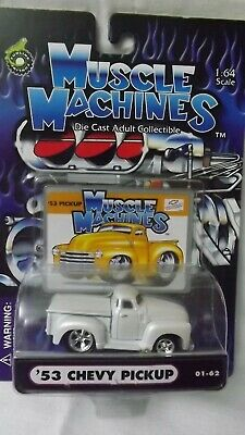 AU6.34 • Buy Muscle Machines  '53 Chevy Pickup 01-62  1/64 Scale