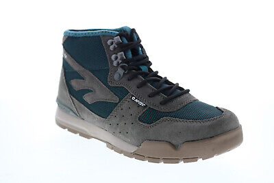 Hi-Tec Sierra Lite 23170 Womens Gray Suede Lace Up Hiking Boots • 46.99£
