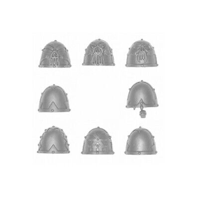 AU5.99 • Buy Khorne Berzerkers SHOULDER PADS X 8 Chaos Space Marines 40K