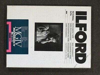 Ilford Multigrade IV RC Deluxe (Glossy) 12.7 X 17.8cm (5x7in) - 100 Sheets • 24.95£