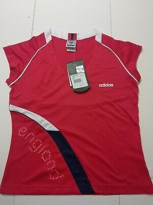 Adidas Fifa World Cup Germany 2006 England W Red Tee Shirt Woman Size 40 • 5£