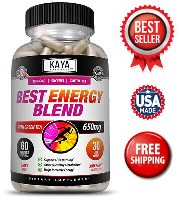 $10.08 • Buy Best Energy Blend 60Ct -Energy Support, Boost Metabolism, Weight Management