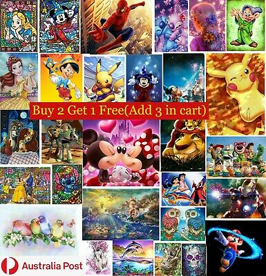 AU12.39 • Buy 5D DIY Full Drill Diamond Painting Embroidery Cross Stitch Home Decor Arts Gifts