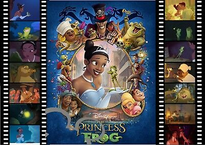 £3.60 • Buy Disney The Princess And The Frog Filmstrip Art A4 Print,photo,picture,nursery
