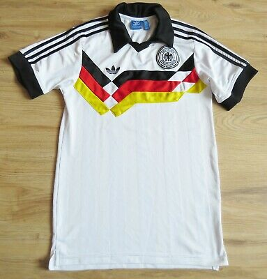 GERMANY Adidas Retro Home Shirt 1988/90 (S) • 12.50£