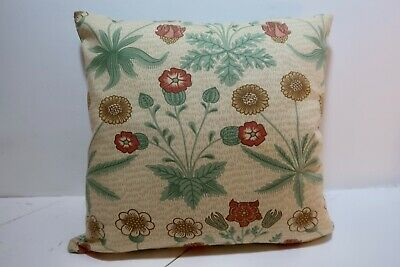 "2 Wm Morris Designs In One 16"" Cushion Cover- See Both Sides Lovely Combination • 10.99£"