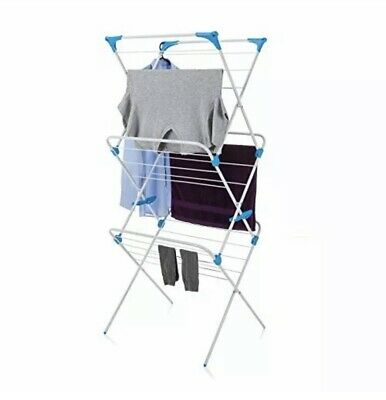 £18.99 • Buy Minky IH86400103 3 Tier Indoor Airer With 15 M Drying Space, Metal, White