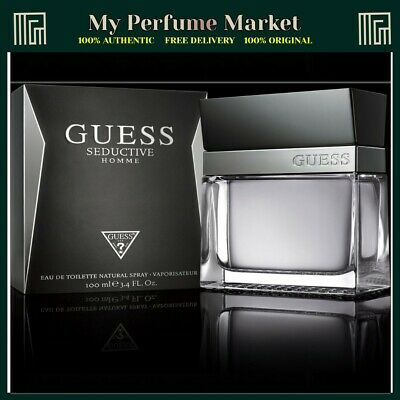 Guess Seductive Homme 100ml Edt Spray Brand New & Boxed • 29.99£
