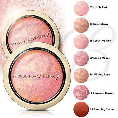 £7.99 • Buy MAX FACTOR Creme Puff Blush Blusher Compact Pressed Powder SEALED *ALL SHADES*