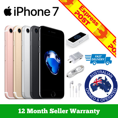 AU421.95 • Buy (NEW & SEALED) Apple IPhone 7 | Factory Unlocked | Black Silver 256GB 128GB 32GB