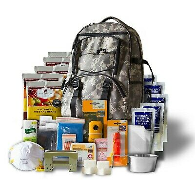 $85.99 • Buy Bug Out Bag Survival Kit Emergency Backpack Prepper Supplies First Aid Food Gear