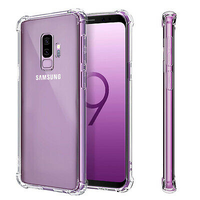 $ CDN6.99 • Buy Clear Shockproof Thin Slim Case Cover For Samsung Galaxy S9 / S9+ Plus
