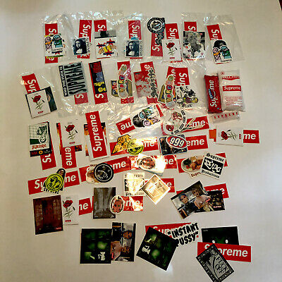 $ CDN250.64 • Buy Supreme Posters Assorted Sticker Lot 100% Authentic