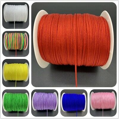 $1.48 • Buy 0.5 To 1.5mm Nylon Cord Threads Chinese Cord String Jewelry Making Accessories