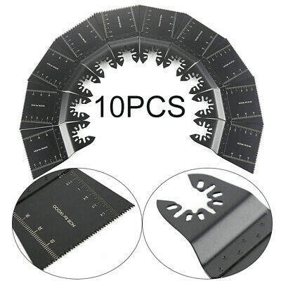10x Oscillating Blades Saw Multi Tool 65mm For Makita Fein Multimaster Parts • 18.99£