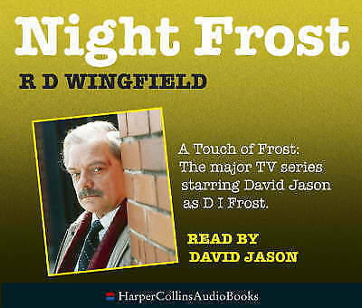 Night Frost By R D Wingfield. Read By David Jason CD-Audio Book   • 5£