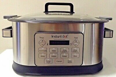 $ CDN100.46 • Buy Instant Pot Gem 6 Qt 8-in-1 Programmable Multicooker With Advanced Microproce