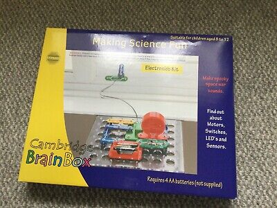 £18 • Buy Making Science Fun Electronics Kit By Cambridge Brain Box