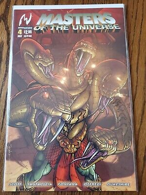 $4 • Buy Masters Of The Universe #4 MVC, High Grade, Never Read!