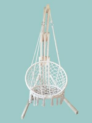 Base Stand For Hanging Chair Hammock Swing Seat Egg Macrame Chair  • 105£