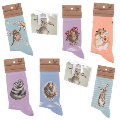 £7.95 • Buy Wrendale Bamboo Socks With FREE Gift Bag 12 Designs