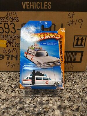 Hot Wheels~Ghostbusters~Ecto-1~1:64~HTF~New Model For 2010~25/44~Brand New~ NM+ • 6.51£
