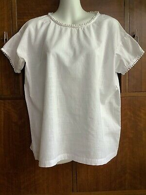 AU24 • Buy Gorman White Cotton Shirt Size 8AU