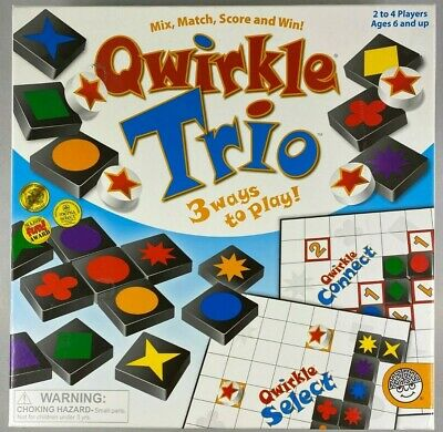 $ CDN41.06 • Buy Qwirkle Trio Board Game - 3 Ways To Play - Ages 6 & Up, 2 To 4 Players Mindware