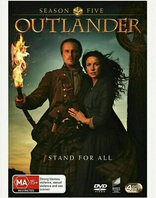 AU24.99 • Buy OUTLANDER Season 5 (2020) BRAND NEW Region 4 DVD 4 Disc Set SEALED