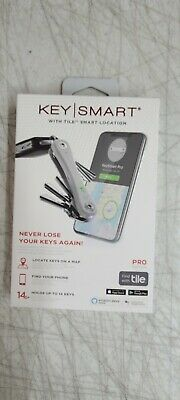 NEW Keysmart KS411-WHT Pro Smart Key Organizer With Tile Location Tracking WHITE • 26.58£