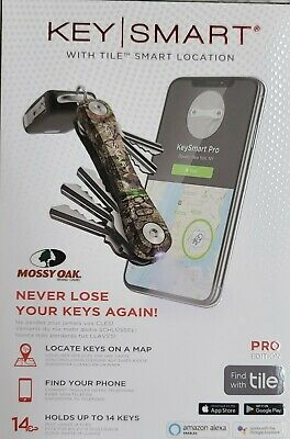 NEW Keysmart KS411-CMO Pro Smart Key Organizer Tile Location Tracking MOSSY OAK • 33.31£