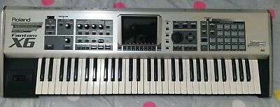 AU1200 • Buy Roland Fantom X6 Silver Including Soft Case Used But In Good Condition.