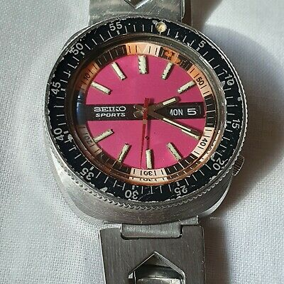 $ CDN819.49 • Buy Vintage Seiko Sports 5126-6080 Automatic 23 Jewels Day/Date Men's Watch RARE
