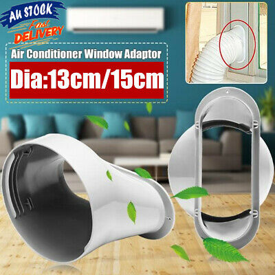 AU18.49 • Buy 13,15cm Window Adaptor Connectors For Air Conditioner Exhaust Hose And Kit Plate