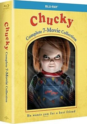 Chucky The Complete 7 Movie Collection Child's Play Reg B Blu-ray • 55.35£