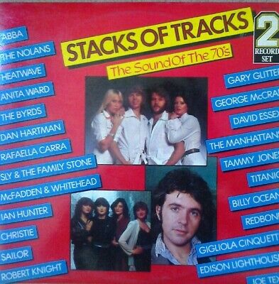 Various - Stacks Of Tracks (The Sound Of The 70's) (2xLP, Comp) • 11.99£