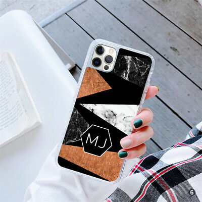 AU10.55 • Buy Personalised Marble Shapes Gel Phone Case Cover For Apple Samsung Huawei OD70-6