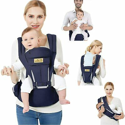 Baby Carrier-  Hip Seat- Pure Cotton Lightweight • 72.99£