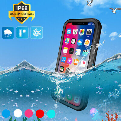 AU8.99 • Buy For IPhone 12 11 XS Pro Max XR 8 7 6s SE 2 Waterproof Shockproof Protective Case