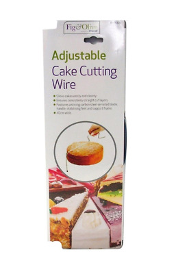 £2.85 • Buy Adjustable Cake Cutting Wire 33cm Wide Bread Cutter Slicer Leveller New