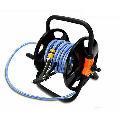15-20M Portable Hose Pipe Reel Holder Garden Cart Water Pipe Carrier Free Standi • 15.76£