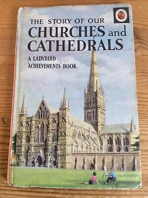 Vintage Ladybird Book - The Story Of Our Churches And Cathedrals • 1£