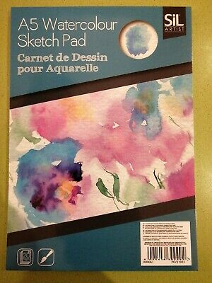 £2.79 • Buy A5 Artists Watercolour Sketch Pad Stationary Premium Paper  Drawing Book 20pages
