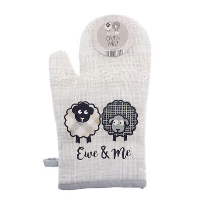 Country Club Ewe And Me Oven Mitt Glove Pot Holder Heat Protection Sheep Cute • 8.30£