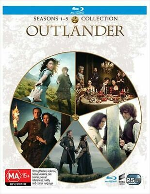 AU79.99 • Buy OUTLANDER-Seasons 1-5 Box Set-Blu-Ray-SEALED-BRAND NEW-REGION B- SEASO1 2 3 4 5