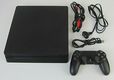 AU260 • Buy Sony Playstation 4 Ps4 1tb Slim Black Console Cuh-2202b With Controller